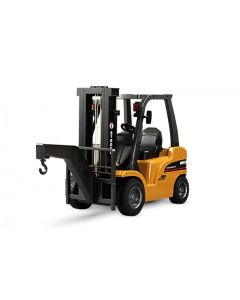 RC Fork Lift Truck with Metal Frame, Cab & Wheels, Lights & Sound - 1/10th Scale 8 Channels