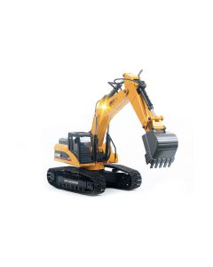 RC Excavator 580 with Metal Frame, Lights, Sound & Smoke - 1/14th Scale 23 Channels