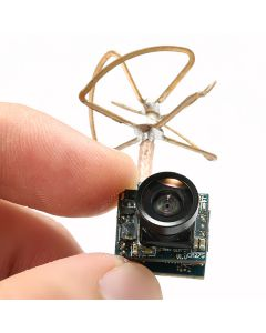 Super Mini Light AIO 5.8G 48CH 25mW VTX 520TVL 1/4 Cmos FPV Camera PAL/NTSC for QX90 QX95 E010