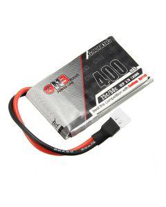 Gaoneng GNB 3.7V 400mAh 1S 25/50C Lipo Battery White Plug